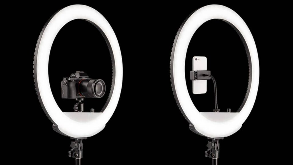 choisir une ring light sur pied