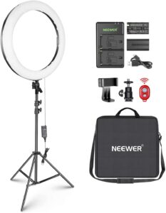 "Neewer Kit Ring Light LED 20"" Anneau Lumineux"