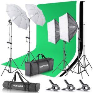 Neewer Kit pour Studio Photo et Production vidéo