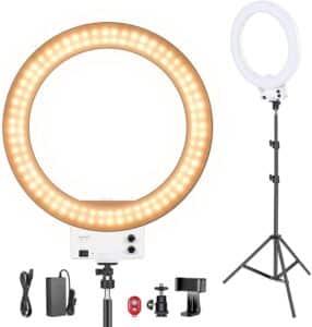 Neewer Ring Light 48cm LED Lumière Anneau Blanche 42