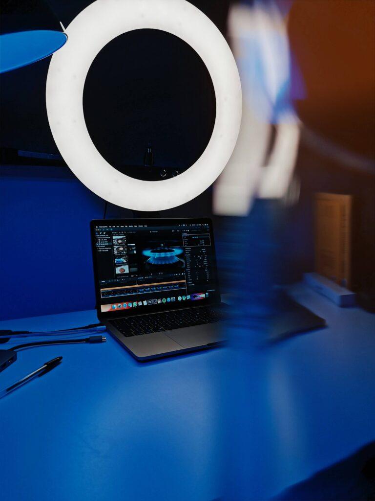 Ring light pro de bureaux